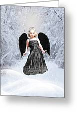 Dark Fairy Greeting Card by ChelsyLotze International Studio
