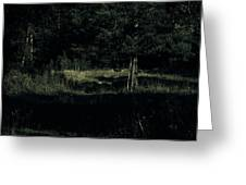 Dark Woods Greeting Card by Alexei Biryukoff