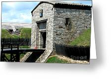 Dauphin Battery And Gate Of The Five Nations Old Fort Niagara 2 Greeting Card by Rose Santuci-Sofranko
