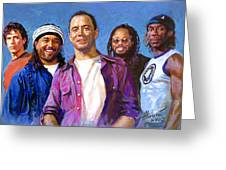 Dave Matthews Band Greeting Card by Viola El