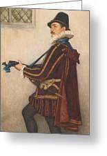 David Rizzio Greeting Card by Sir James Dromgole Linton