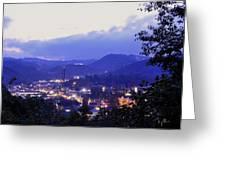 Dawn of Gatlinburg Greeting Card by Nian Chen