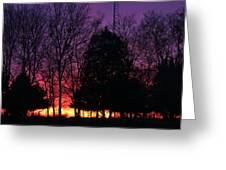 Day Is Done Greeting Card by Lorri Crossno