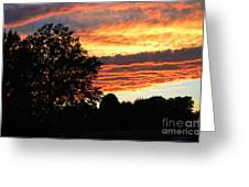 Day Is Done Greeting Card by Luther   Fine Art