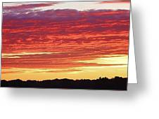 Days End Greeting Card by Bruce Bley