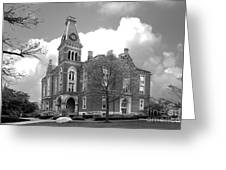 De Pauw University East College Greeting Card by University Icons