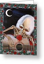 Dead Serenade Greeting Card by Gary Kroman