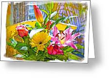 December Flowers Greeting Card by Chuck Staley
