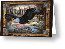 Deco Eagle Greeting Card by JQ Licensing