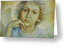 Deep In Thought Greeting Card by Elena Oleniuc