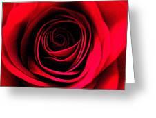 Deep Love Greeting Card by Shirley Sirois