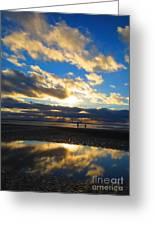 Deep Reflection Greeting Card by C  Lythgo
