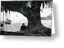 Deeply Rooted Greeting Card by Betsy C Knapp