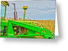 Deere 158 Greeting Card by Baywest Imaging