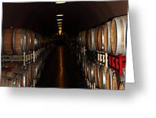 Deerfield Ranch Winery 5D22215 Greeting Card by Wingsdomain Art and Photography