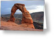 Delicate Arch - Arches National Park - Utah Greeting Card by Aidan Moran