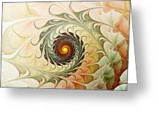Delicate Wave Greeting Card by Anastasiya Malakhova