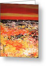 Delire Automnal Or Fall Extasy Greeting Card by Margarete M Kedl