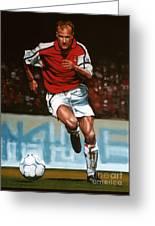 Dennis Bergkamp Greeting Card by Paul Meijering