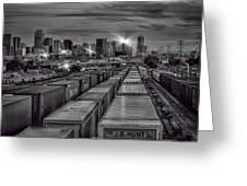Denver's Underbelly Greeting Card by Kristal Kraft
