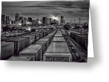 Denver's Underbelly Greeting Card by Kristal Kraft