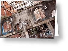 Derelict Wall Of Lost Limbs 01 Greeting Card by Rick Piper Photography