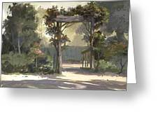 Descanso Gardens Greeting Card by Michael Humphries