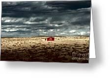 Desert Landscape Greeting Card by Julie Lueders