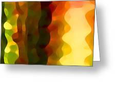Desert Pattern 3 Greeting Card by Amy Vangsgard