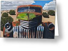 Desert Varnish Greeting Card by Jack Atkins