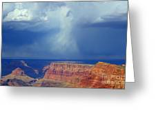 Desert View Grand Canyon Greeting Card by Bob Christopher