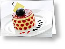 Dessert Greeting Card by Elena Elisseeva