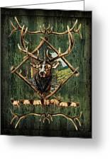 Diamond Elk Greeting Card by JQ Licensing