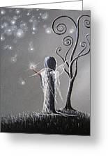 Diamond Fairy By Shawna Erback Greeting Card by Shawna Erback