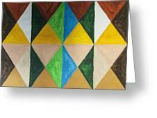 Diamonds Greeting Card by Stormm Bradshaw
