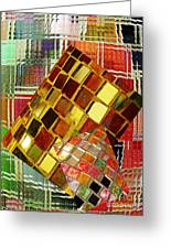 Digital Mosaic Greeting Card by Sarah Loft