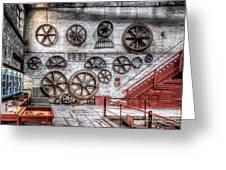 Dinorwig Quarry Workshop Greeting Card by Adrian Evans