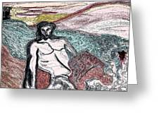 Dionysus By Jrr Greeting Card by First Star Art