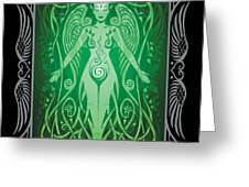 Divine Life v.2 Greeting Card by Cristina McAllister