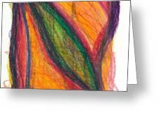 Divine Love Greeting Card by Daina White