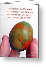 Divine Surprise Greeting Card by Ausra Paulauskaite