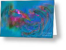 Diving Greeting Card by Jeanne Liander