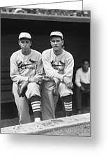 Dizzy Dean Cardinals Greeting Card by Retro Images Archive