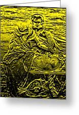 Dj Napoleon Greeting Card by John W King