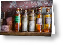 Doctor - Perfume - Soap And Cologne Greeting Card by Mike Savad