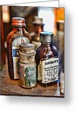 Doctor The Mercurochrome Bottle Greeting Card by Paul Ward