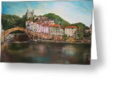 Dolceacqua Italy Greeting Card by Jean Walker