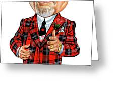 Don Cherry Greeting Card by Art