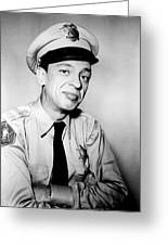 Don Knotts In The Andy Griffith Show  Greeting Card by Silver Screen