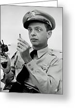 Don Knotts Greeting Card by Mountain Dreams